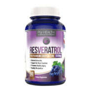 Resveratrol bottle front
